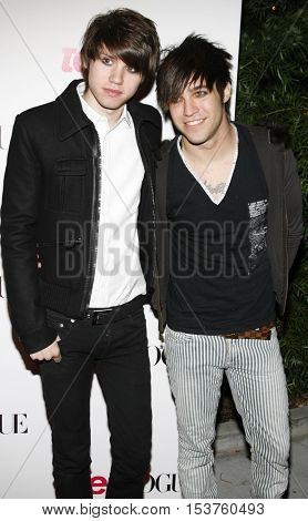 Pete Wentz at the Teen Vogue Young Hollywood Issue Party held at the Sunset Tower in West Hollywood, USA on September 20, 2006.