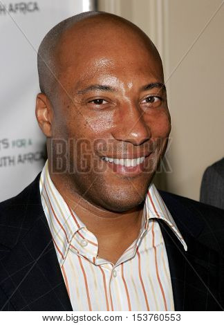 John Singleton at the Archbishop Desmond Tutu's 75th Birthday Party held at the Regent Beverly Wilshire Hotel in Beverly Hills, USA on September 18, 2006.