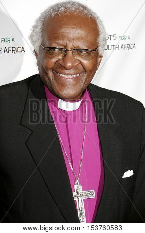 Archbishop Desmond Tutu at the Archbishop Desmond Tutu's 75th Birthday Party held at the Regent Beverly Wilshire Hotel in Beverly Hills, USA on September 18, 2006.