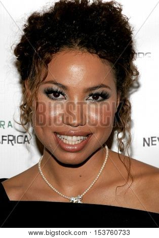 Jurnee Smollett at the Archbishop Desmond Tutu's 75th Birthday Party held at the Regent Beverly Wilshire Hotel in Beverly Hills, USA on September 18, 2006.