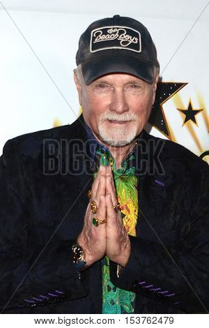 LOS ANGELES - OCT 25:  Mike Love at the Hollywood Walk of Fame Honors at Taglyan Complex on October 25, 2016 in Los Angeles, CA