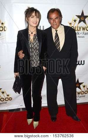 LOS ANGELES - OCT 25:  Lauren Koslow, Thaao Penghlis at the Hollywood Walk of Fame Honors at Taglyan Complex on October 25, 2016 in Los Angeles, CA