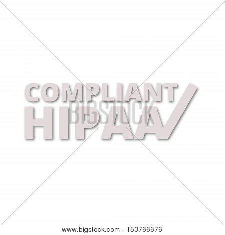 HIPAA - Health Insurance Portability and Accountability Act icon