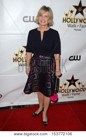 LOS ANGELES - OCT 25:  Mary Beth Evans at the Hollywood Walk of Fame Honors at Taglyan Complex on October 25, 2016 in Los Angeles, CA