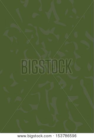 Abstract military background. Military print. Khaki background. Background for text Vector graphics. The green background.