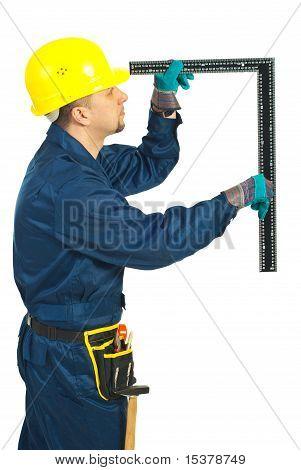 Builder Man Make Measurement