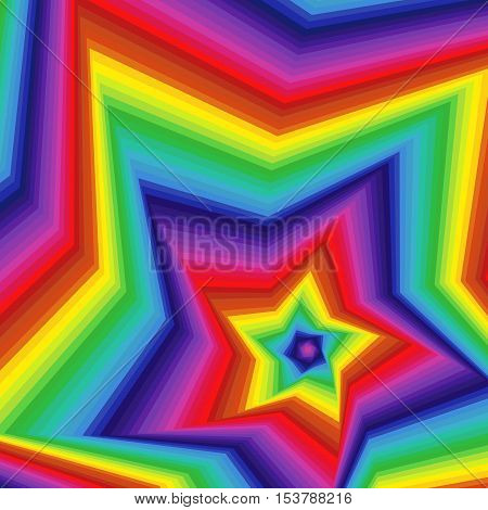 Digital Twisted Spectrum Pentagonal Star Forms