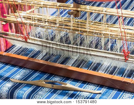 weaving thread for the fashion textile industry.