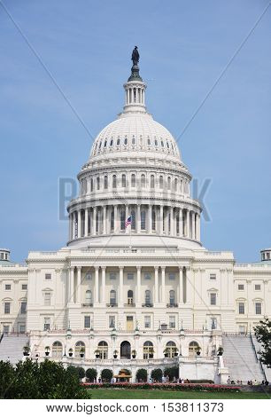 United States Capitol Building in Washington, District of Columbia, USA.