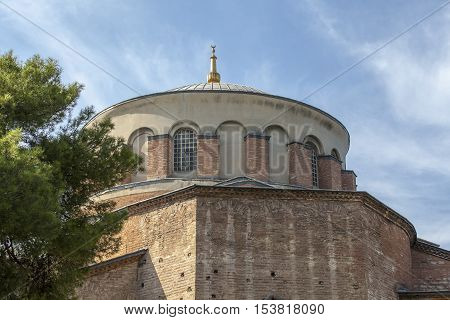 Church of St. Irene (Agia Irini) in Istanbul
