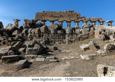 The ruins of Selinunte Sicily are among the most striking archaeological sites in the Mediterranean and a supreme example of the fusion of Phoenician and Greek culture.