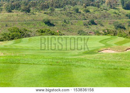 Golf Hole Par 3
