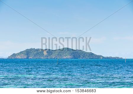 View Of Castaway Island In Fiji