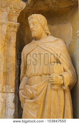 The Apostle Saint Matthias At The Saint Thomas Church Of Haro, La Rioja