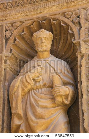 Saint Peter At The Saint Thomas Church Of Haro, La Rioja