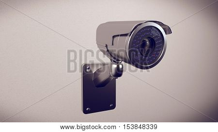 Security Cameras Frontal View