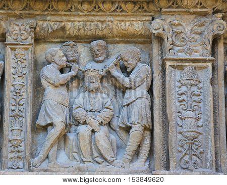 Torture Of Jesus At The Saint Thomas Church Of Haro, La Rioja