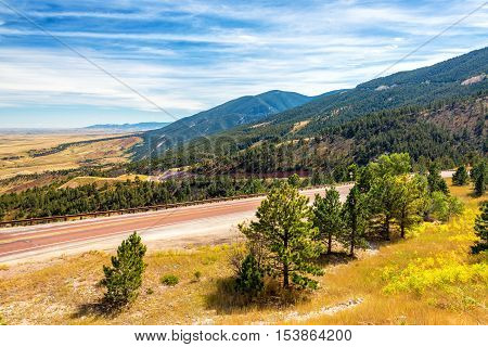 Landscape Near Sheridan, Wyoming