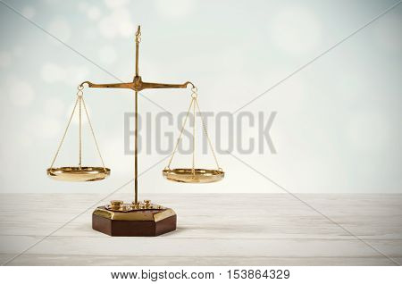 Law Scale Justice Symbol