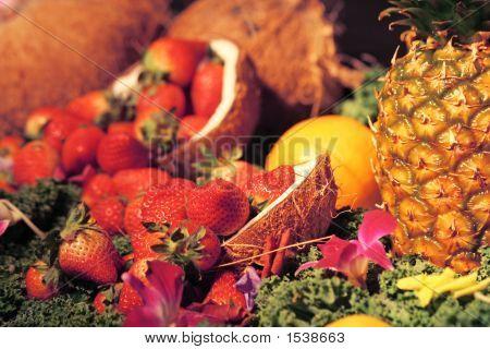 Fruit Arrangement Too
