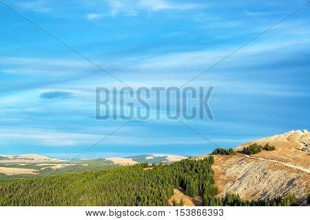 Beautiful Wyoming Landscape