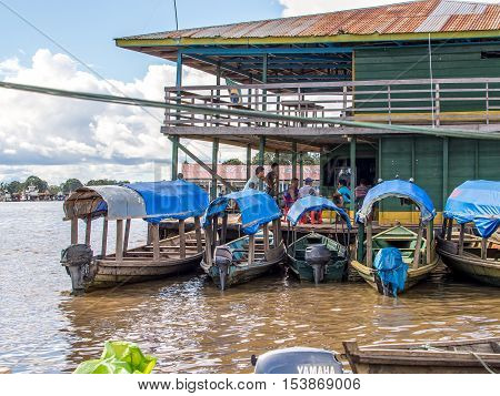 Port Of Amazon River