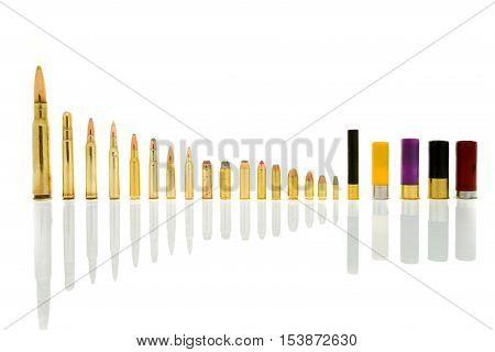 Ammunition In Background
