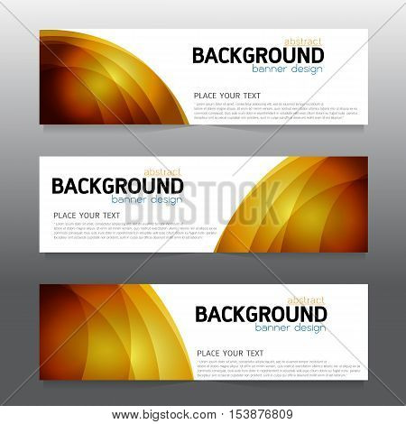 vector background banner Collection horizontal business set templates. modern geometric abstract layout for website design. simple creative cover header. in rectangle size space message text red orange white