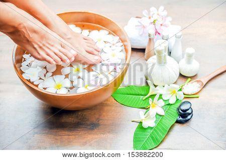 Feet Spa Treatment.