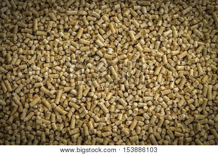 Wood pellets- the Concept of saving. .Biofuels , an alternative fuel for the boiler. Wood pellets used as cat litter.