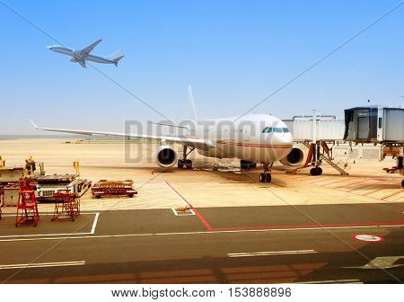 Shanghai Pudong International Airport and overhaul of aircraft.