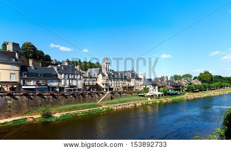 The Town Of Montignac