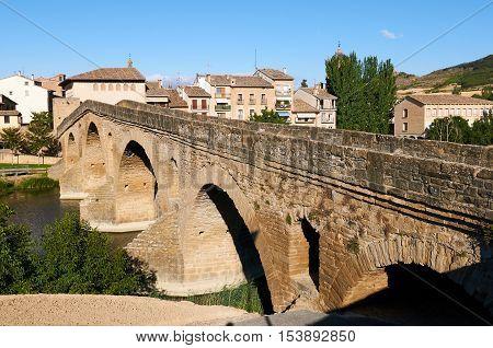 Puente La Reina is a town un Navarra (Spain) at the road to Santiago