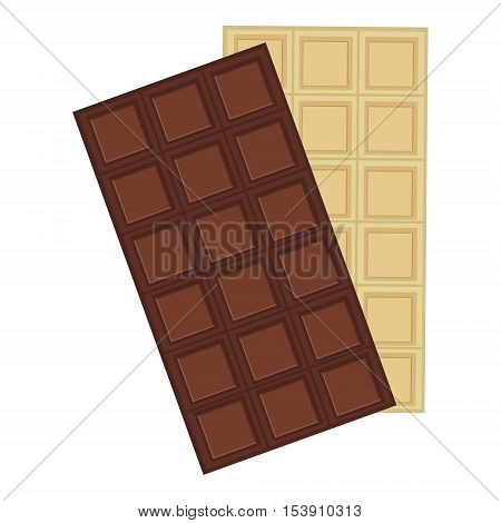 Chocolate Bar White And Dark
