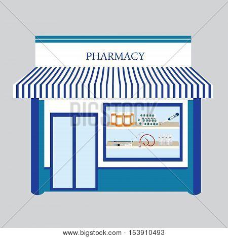 Pharmacy Drugstore Shop