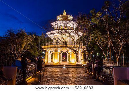 Phuket Thailand - April 14 2015 : Phuket Memorial hall at
