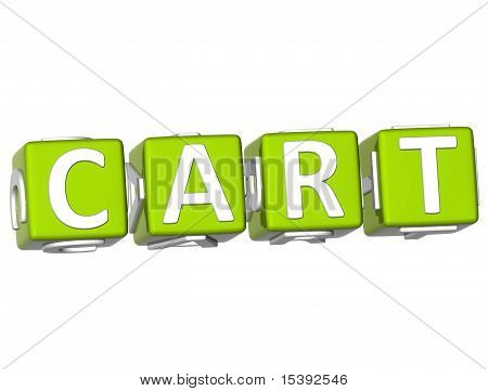 Cart Cube Text