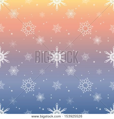 snowflake gradient pastel sky colour background christmas pattern tint layer wallpaper