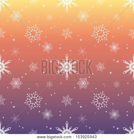 snowflake gradient pink sky colour background christmas pattern tint layer wallpaper