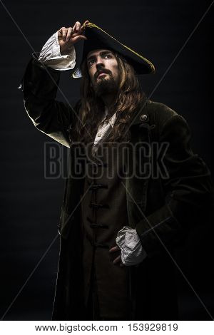 Portrait Of A Medieval Pirate