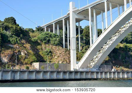 River Douro and a famous bridge near the city of Porto