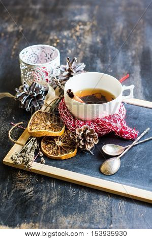 Christmas Cup Of Tea