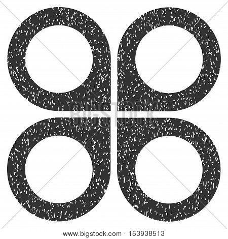 Air Drone grainy textured icon for overlay watermark stamps. Flat symbol with unclean texture. Dotted vector gray ink rubber seal stamp with grunge design on a white background. poster