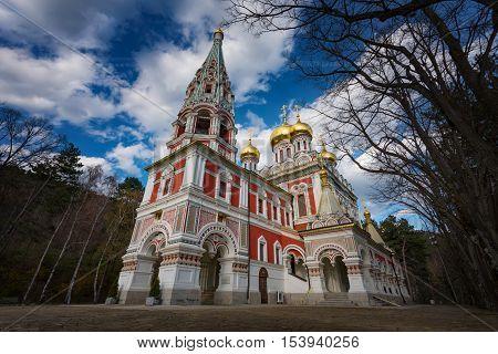 Shipka Memorial Church, town of Shipka, Bulgaria