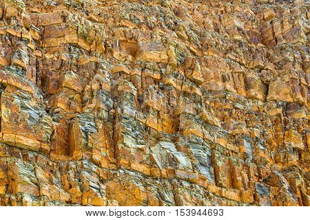 Marbleerosion creates amazing stone texture and pattern in nature for background