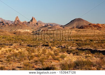 Chisos Mountains Landscape, Big Bend National Park, Texas