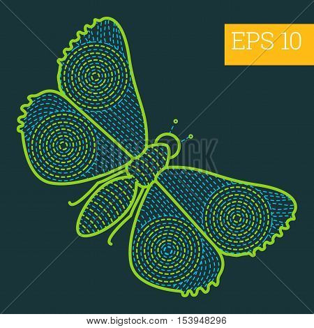 Insect Outline Vector