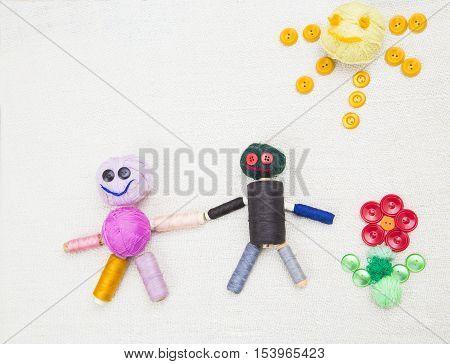 Creative Family Concept