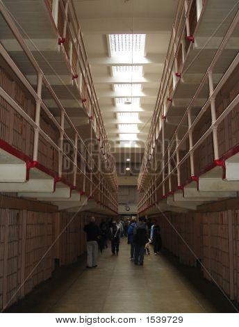 Alcatraz Prison Cell Block