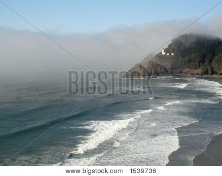 Heceta Head Lighthouse Mist